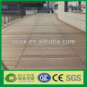 Cheap Outdoor Wood Plastic Composite WPC Polymer Floor/Decking