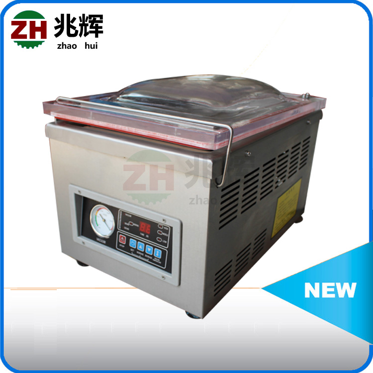 Double chameber and single chamber vacuum sealing machine/hot dog vacuum sealer salted chicken packer