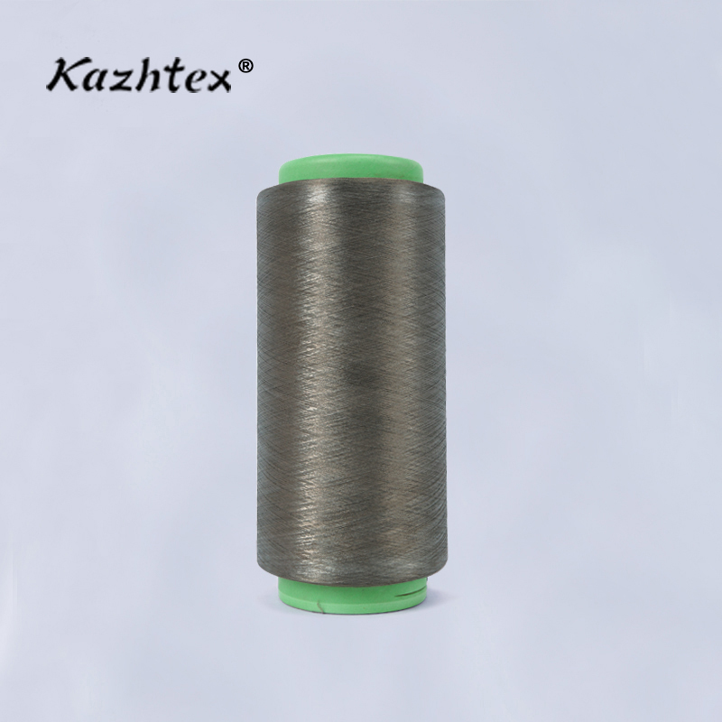 Hot Sale Silver Coated Conductive Fiber Filament Cotton Yarn
