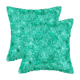 SZPLH Wholesale Customized Satin Rose Flower Square Meditation Pillow Cushion