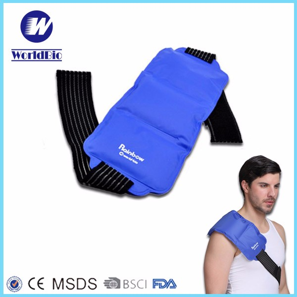 Blue Back Ice Gel Pack Cold Therapy For Back Pain Relief