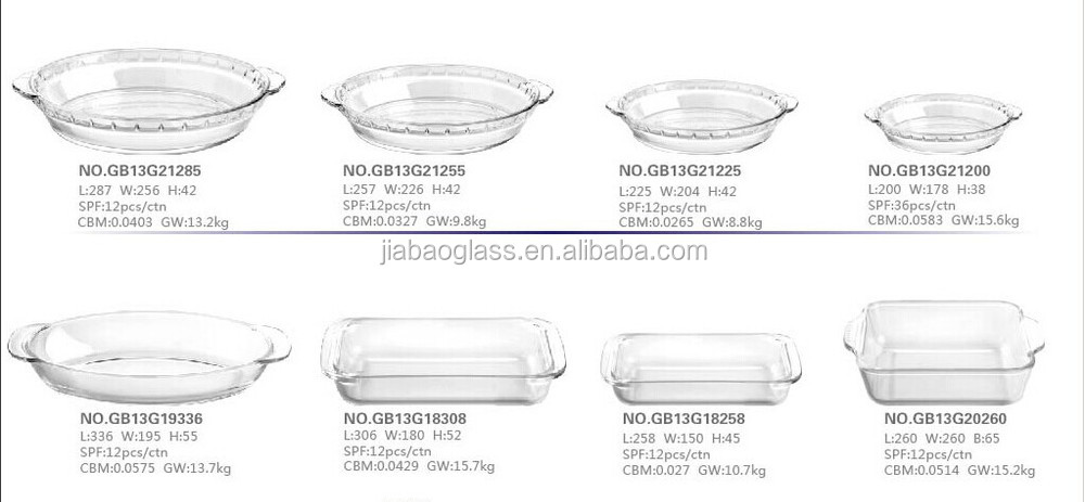 Microwave Oven Safe Pyrex Glware Baking Dishes Heat Resistant Gl Plate For