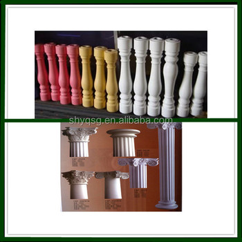 House Decorative Fiberglass Plaster Gypsum Grc Roman
