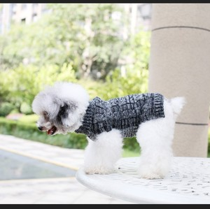 easy knit dog sweater pattern free