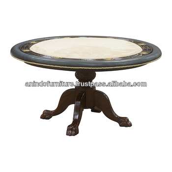 new french round carved dining table buy mahogany carved