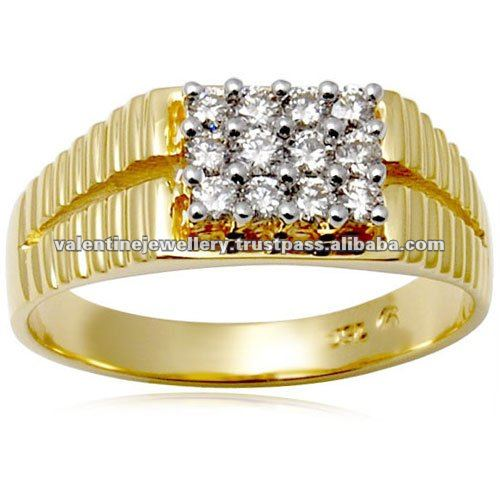Aliexpress.com : Buy Newest Trendy Male Jewelry Crystal Rings ...