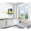 non-slip white color best quality ceramic super kitchen tile