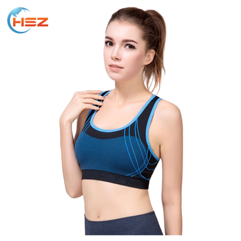 HSZ-3601 Breathable Sportswear Beautiful Bra Women in Fitness Apparel Sexy Bra Design in Various Colors