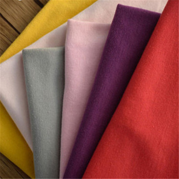 best selling cheapest price custom dyed 95% organic cotton 5% lycra jersey fabric for baby clothes textile