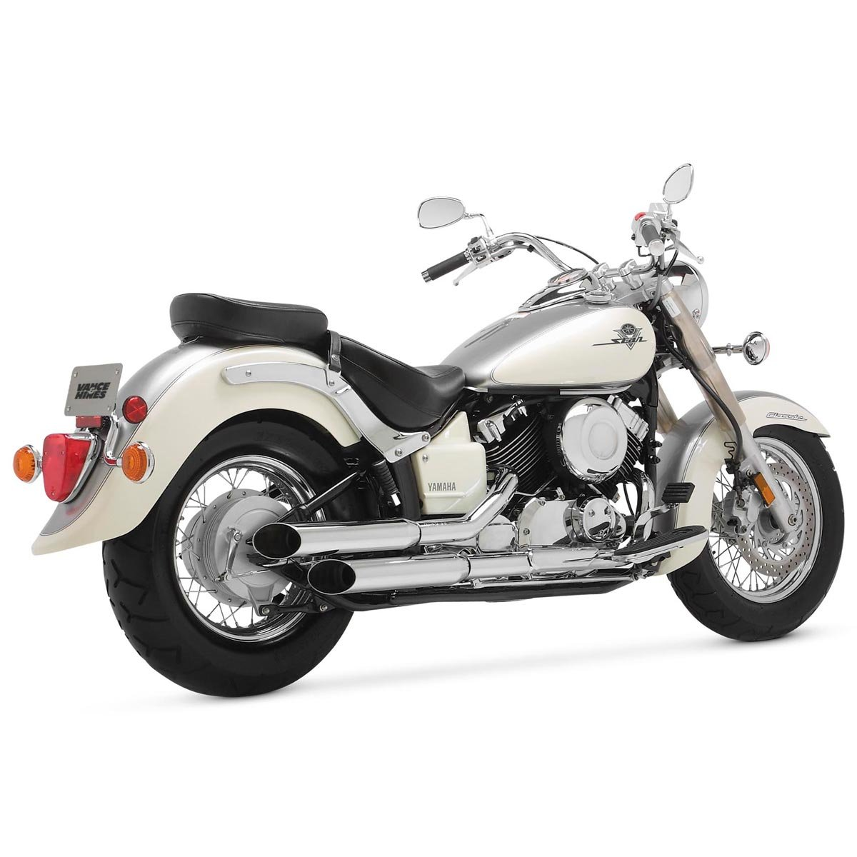 Vance and Hines Cruzers Full System Exhaust for Yamaha 1998-2003 V-Star 650 mod - One Size