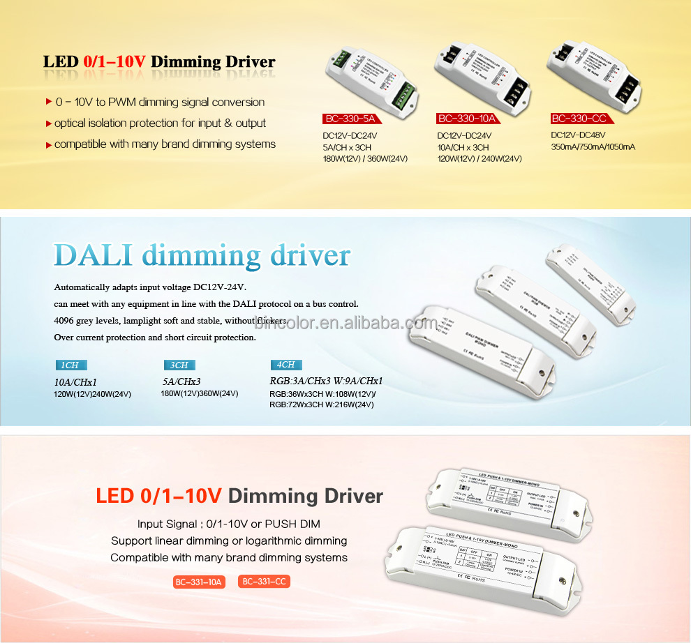 Dc 12v 48v 0 10v To Constant Current Pwm Led Dimmer Driver Buy Circuit 1w X 3 3w X1 Http