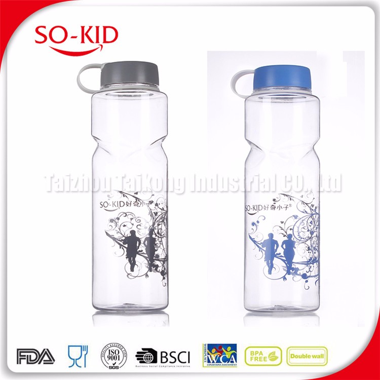 Colorful Plastic Polycarbonate 1500ML Water Bottle
