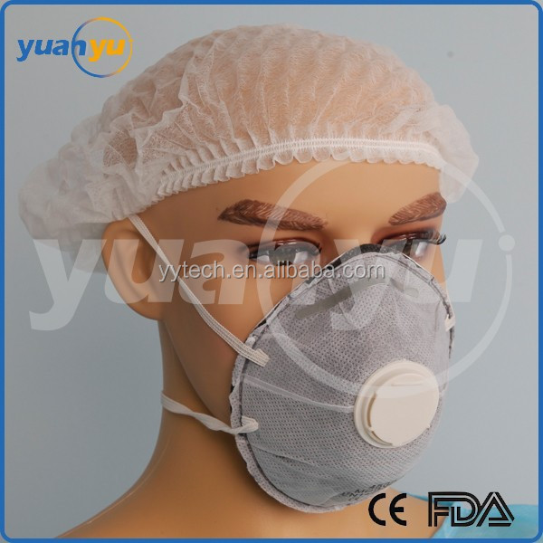 FFP2 Shell type disposable nonwoven N95 FFP2 dust mask face respirator