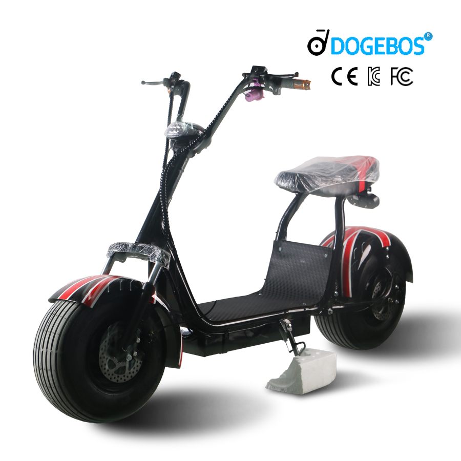 2019 Big Tire Self Charging 2 Wheel Small Balance 3000W electric motorcycle scooter with CE, Customized