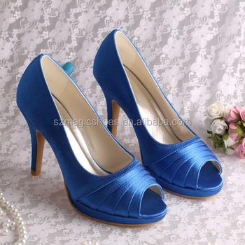 b9192d9a8234 more Colors)small Size Nice Fancy Platform Shoes Wedding Blue - Buy ...