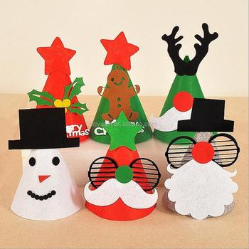 Christmas Hat.Personalized Funcy Cute Felt Material Christmas Hat Buy Funny Christmas Hats Christmas Hats Handmade Unique Christmas Hats Product On Alibaba Com