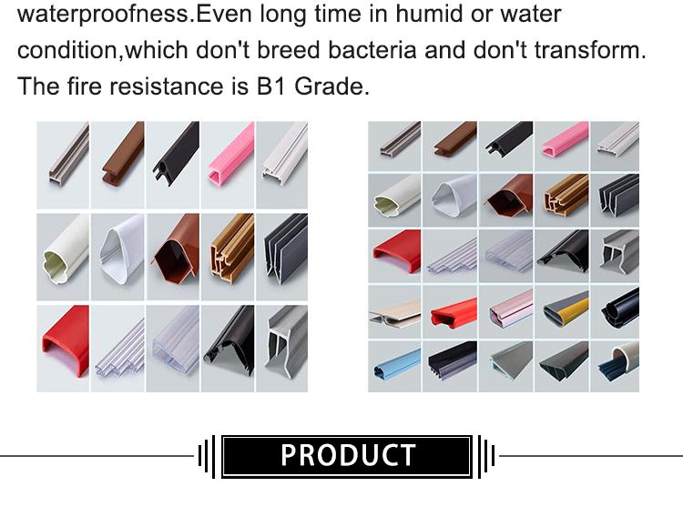 Pipa Segi Empat Tabung Ekstrusi Plastik Halus Keras PP PE UPVC Pabrik Langsung