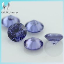 Runde brillantschliff 8mm tanzanite blau <span class=keywords><strong>cz</strong></span>