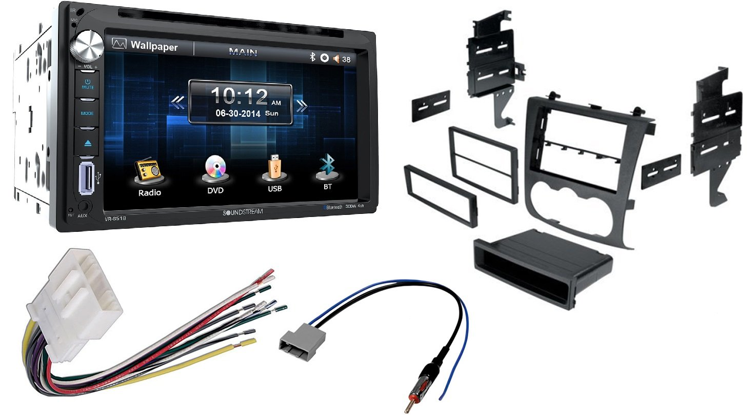 Soundstream VR-651B Double DIN Bluetooth Car Stereo /& Cache Night Vision Camera