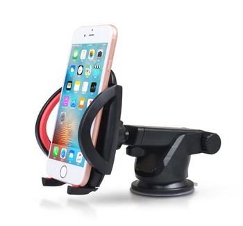 Easy one touch 2 Car Mount Universal Car Phone Holder 360 Degree Suction Cup Stand Holder for mobile phone