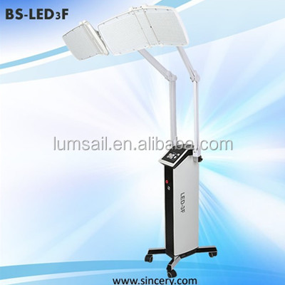 two arms led pdt bio-light therapy system for acne removal