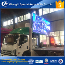 CLW P8 P10 high definition full color LED screen mobile LED advertising car truck for sale