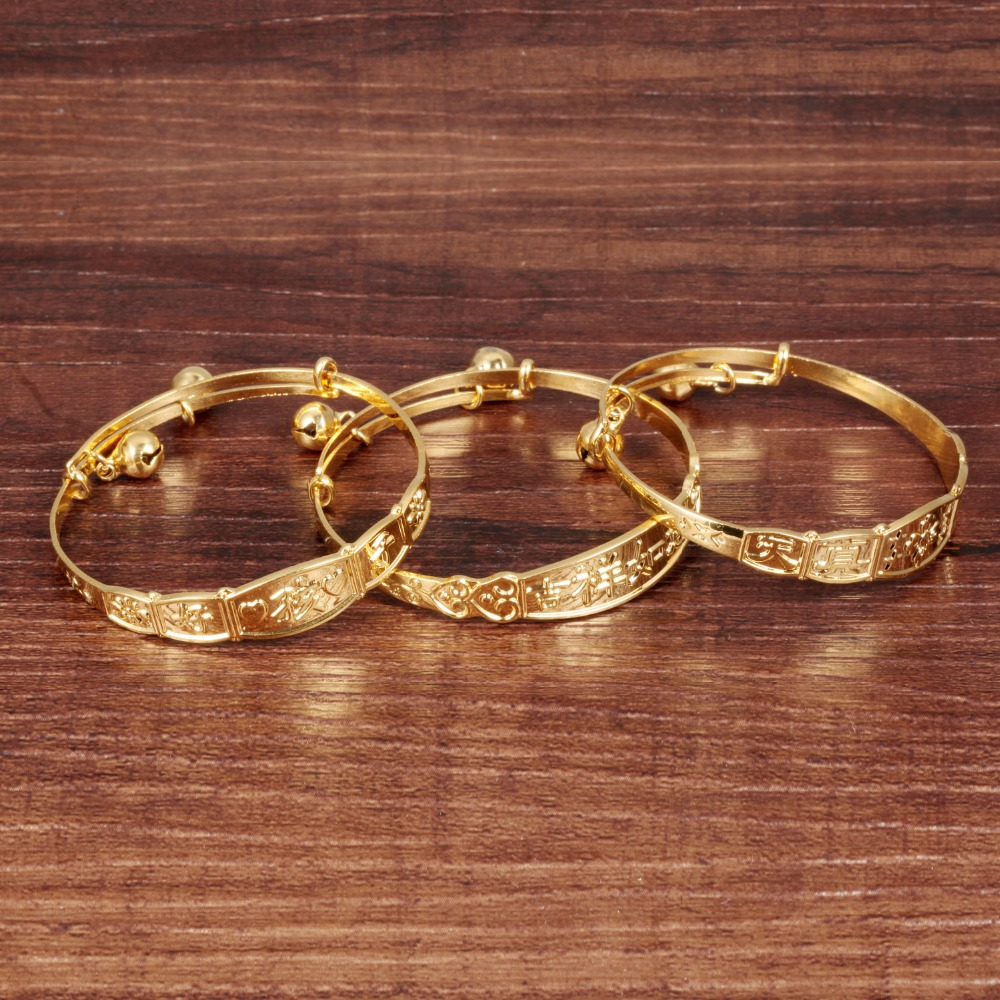Popular Bangle Bracelets: Popular Baby Boy Gold Bracelet-Buy Cheap Baby Boy Gold