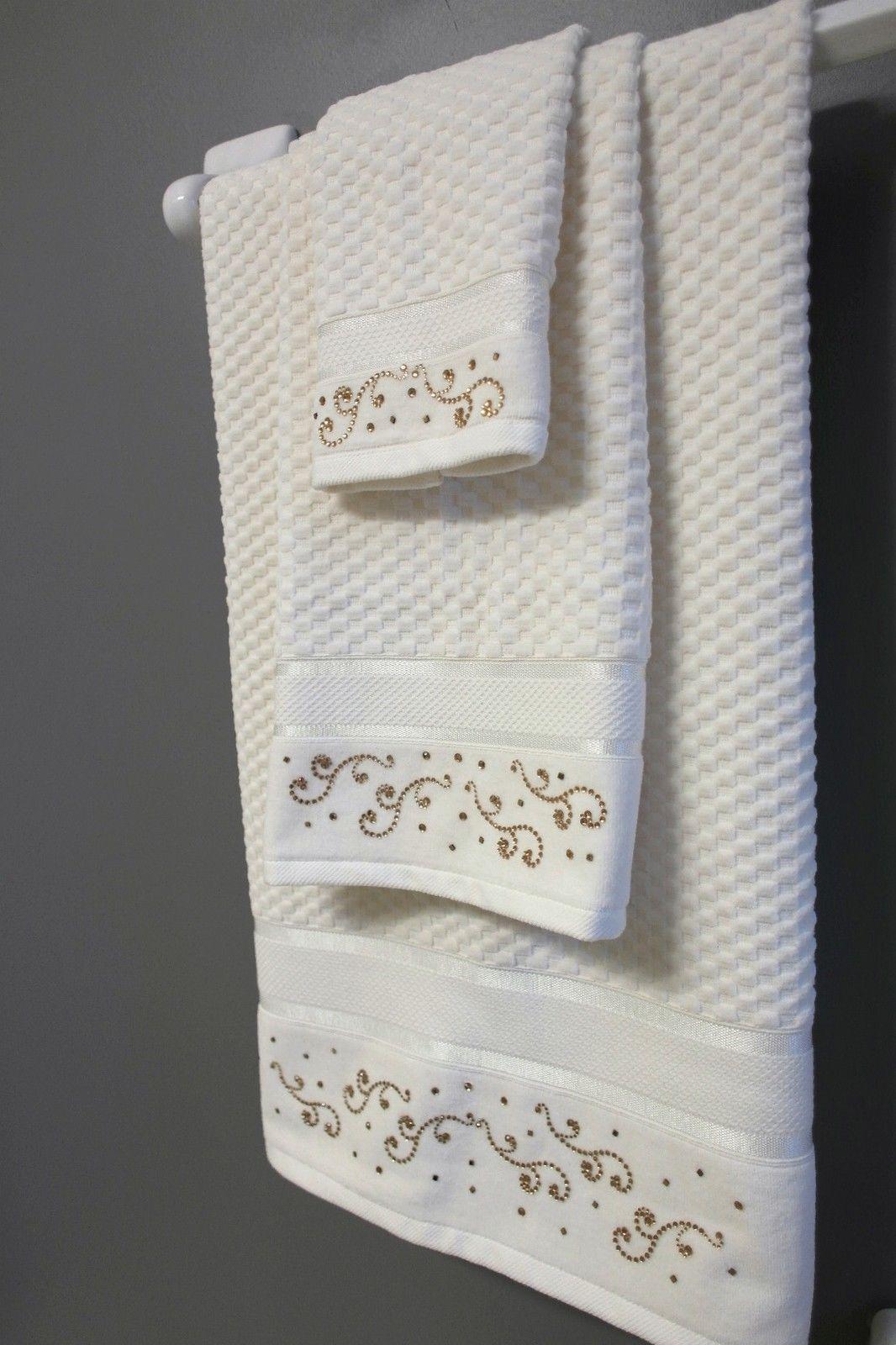 Decorative Bathroom Towels Sets