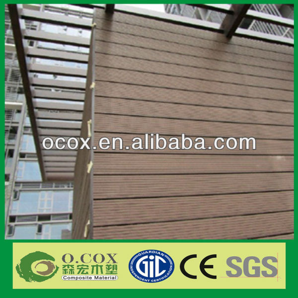 China Good Price High Quality Outdoor Wood Plastic Composite Wall Panel
