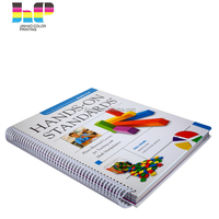 2019 Office& school good spiral coloring a4 or a5 notebook and journal printing from China