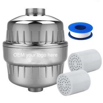 Replaceable Universal Chlorine Remove KDF Carbon Shower Filter Cartridge/ shower water purifier