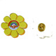 Magnetic Lapel Flower Collar Hard Metal Custom Enamel Pin