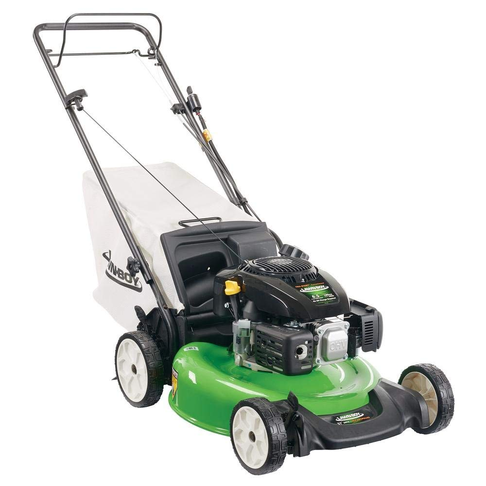 Electric Start Gas Walk Behind Self Propelled Lawn Mower with