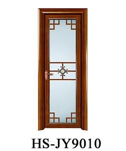 Hs Jy9028 Simple Aluminum Toilet Glass Door Price