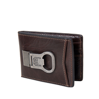 Mens classic genuine leather wallet