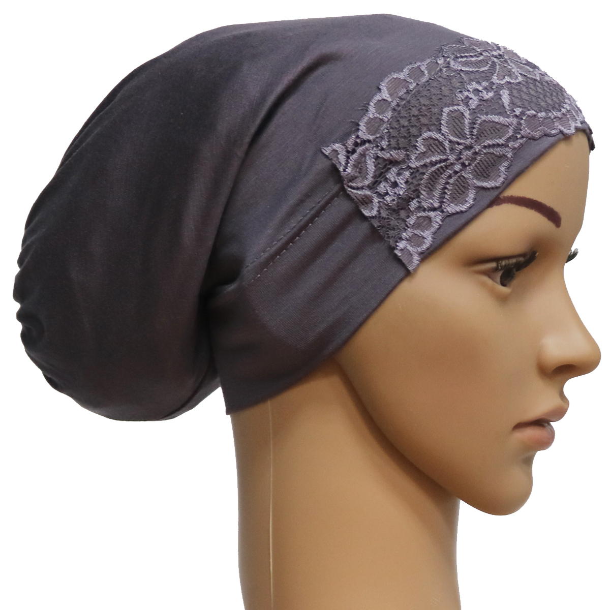 Cheap Sale Women Islamic Hijab Cap Scarf Tube Bonnet Hair Wrap Colorful Head Band A Great Variety Of Models Islamic Clothing