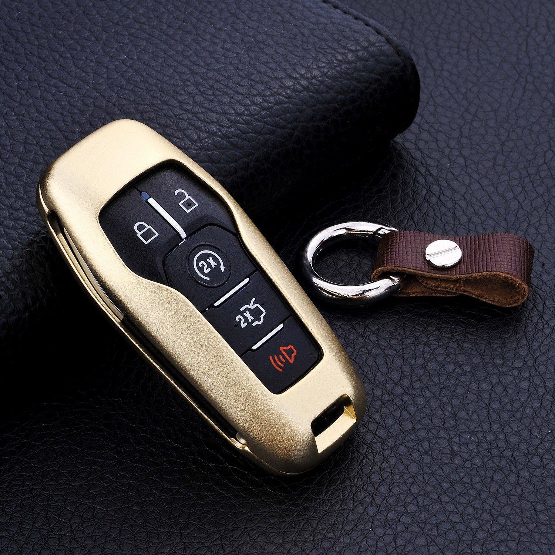 Buy Luxury Premium Aerospace Aluminum Car Key Shell Cover With Key