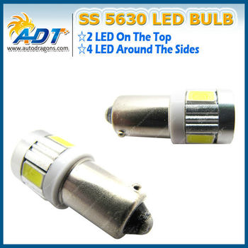 T4w Ba9s White Led Can Bus 6-smd 5630 Side Lights Interior Lights ...