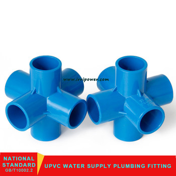 6 Way Pvc Pipe Connector Fitting For Pvc Furniture - Buy 6 Way Pipe  Fittings,Pvc 6 Way Pipe Fitting,6 Way Pvc Pipe Connector Fitting Product on