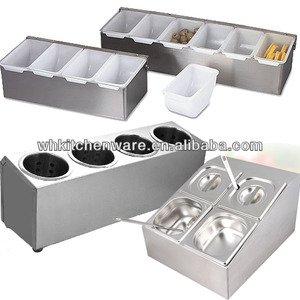 Used In Commercial Kitchenware Different Design Stainless Steel Cutlery Holder