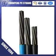 15.2mm wire strand steel cable for prestressing