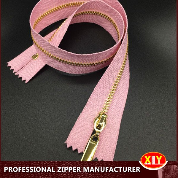 High quality factory zipper slider zip lock with customised pullers