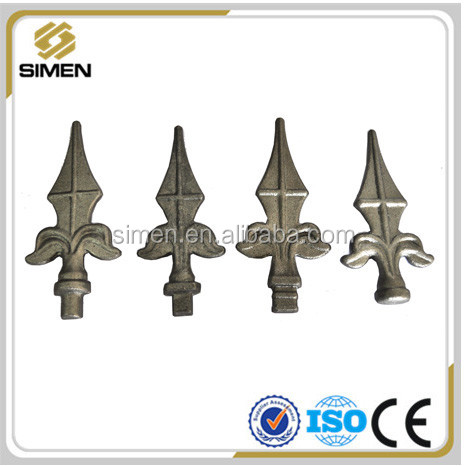 popular spear modern metal fence metal fence toppers