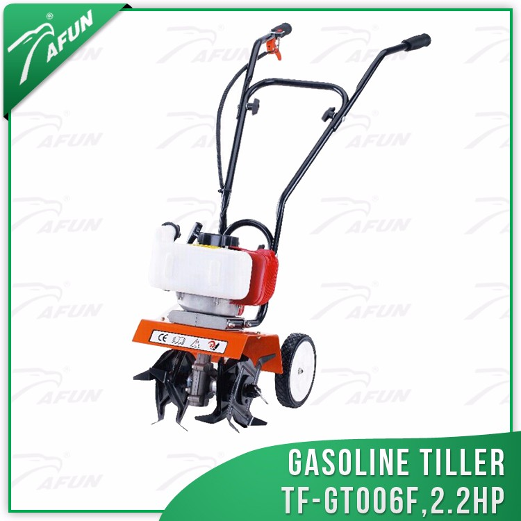 gasoline machinery equipment farm agriculture cultivator with implements