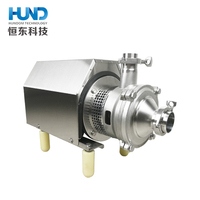 sanitary food grade self priming pump multistage centrifugal pump