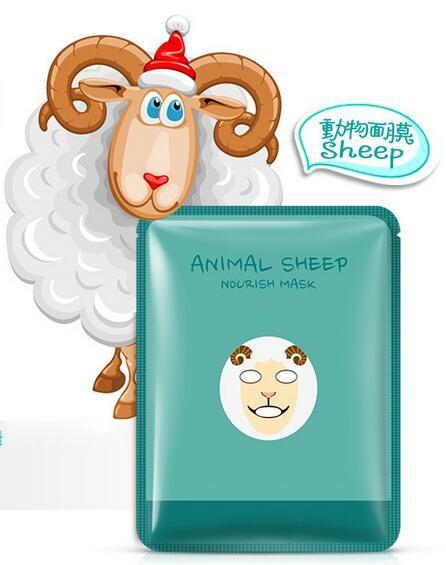 Mendior Natural Moisturizer Animal Sheep Mask Nourish The Smooth Hydrating  Sheet Mask Oem - Buy Moisturizing Nourishing Sheet Mask,Animal Sheep Mask