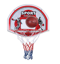 Cheap sport toys kids mini backboard basketball set with metal rim for sale