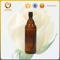 Swing top amber 1L beer glass bottle