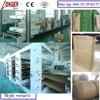 Full Automatic Industrial Kraft Paper Bag Cement Bag Making Machine