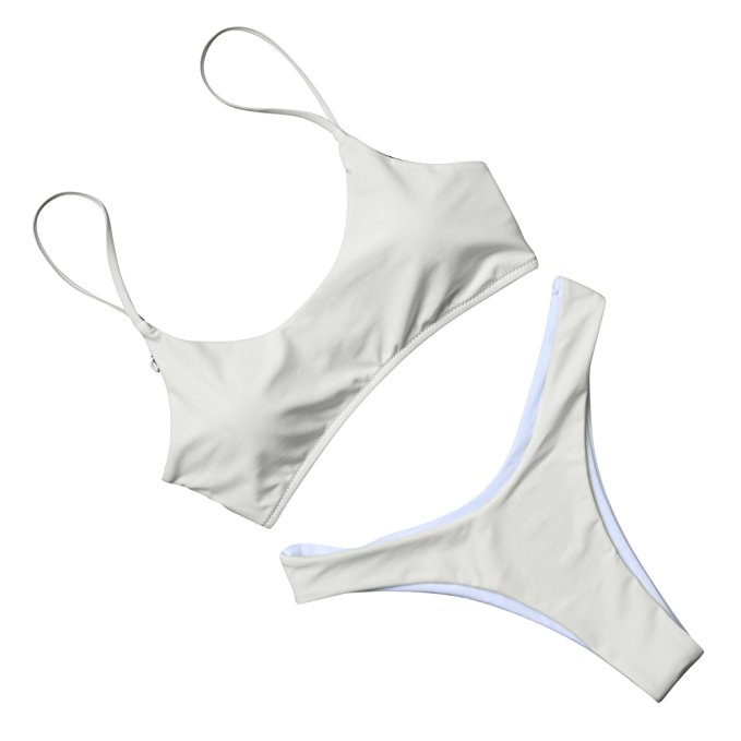 9425bb3160e1c Shops FeelinGirl Womens Plus Size Floral Halter Swimsuit Two Piece Pin up Tankini  Swimwear LB160384